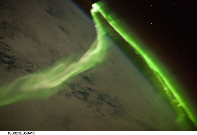 Aurora Australis (NASA, International Space Station Science, 05/29/10)
