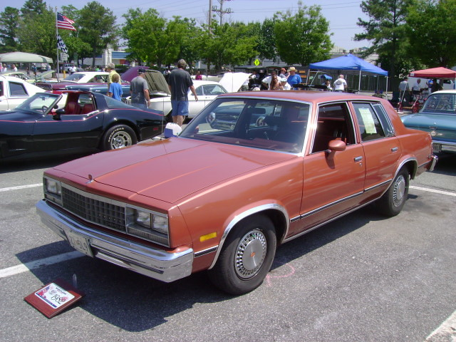 1982 Chevy Malibu Maryland Motor Vehicle Administration