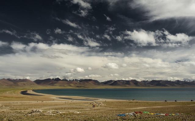Lago Namtso. Tíbet