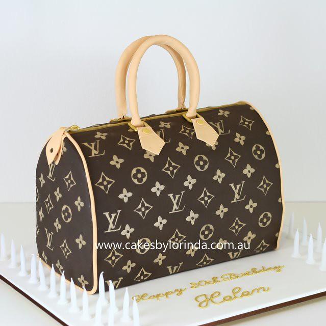 How To Make A Louis Vuitton Handbag Cake