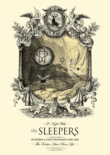 The Sleepers - Poster - Ballooning in a Distant Land