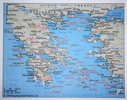 Map Ancient Greece A Photo On Flickriver