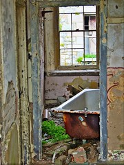 Fort Tourgis Bathroom - Alderney