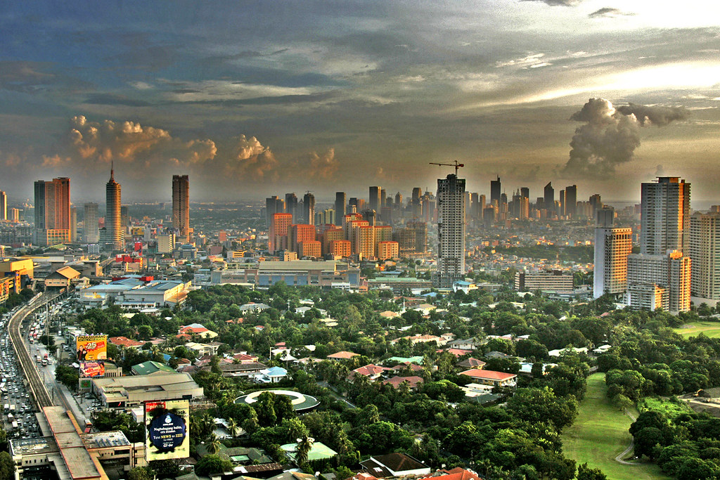 View of Makati From Ortigas