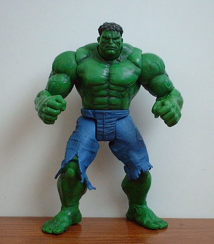 Movie Edition Hulk Action Figure Full Shot
