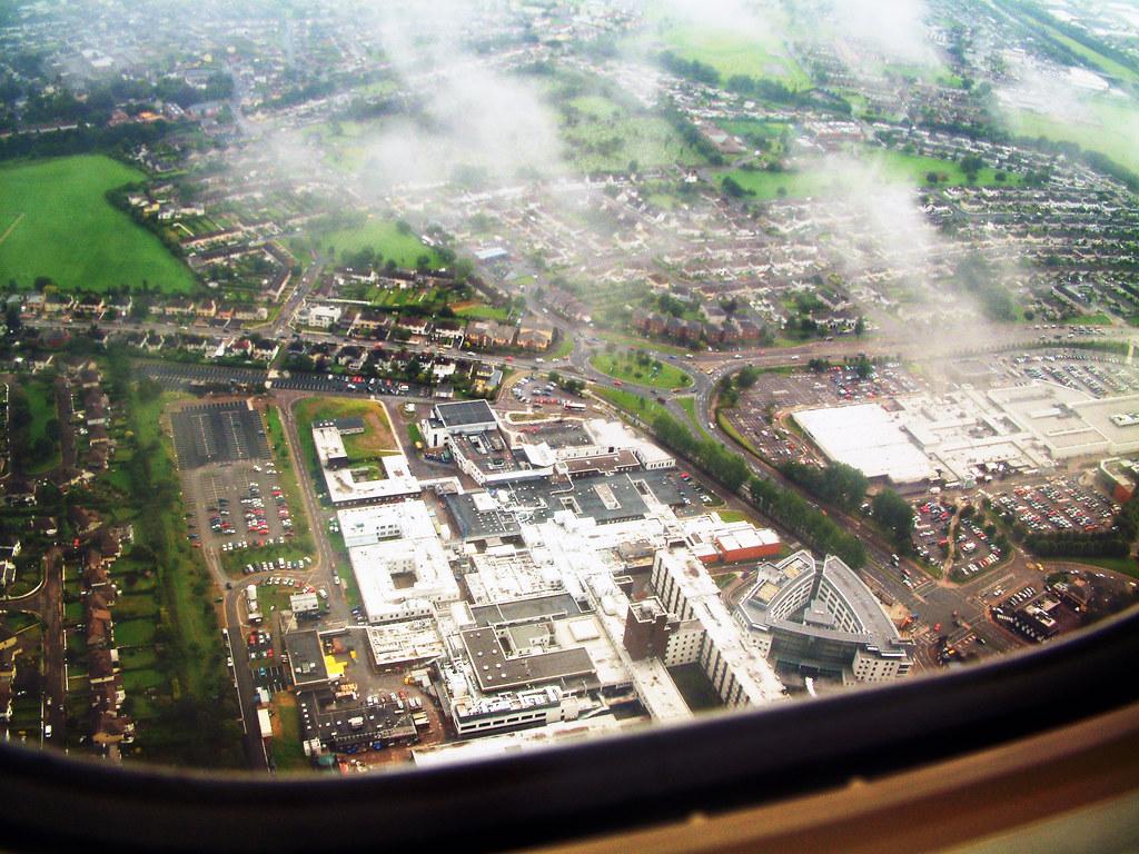 Cork University Hospital | Taken from Ryanair FR9845 DUB-ORK