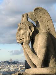 The Stryga and the Basilique du Sacré Coeur; Paris