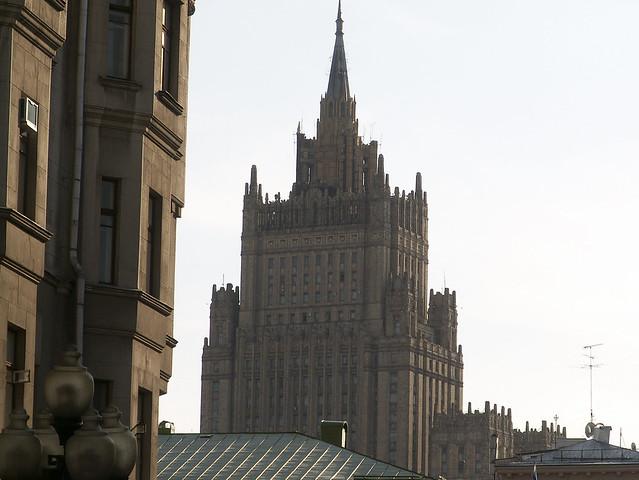 Las Siete Hermanas: Los rascacielos de Stalin, Moscú, Rusia