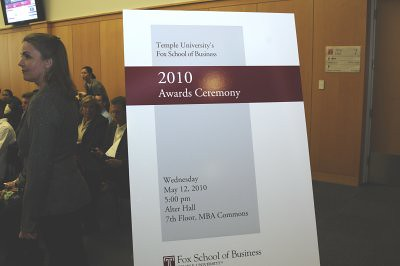 2010 Collegial Assembly of the Fox School of Business & Management
