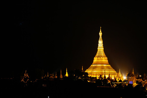 The Golden Pagoda (SHWEDAGON PAGODA)