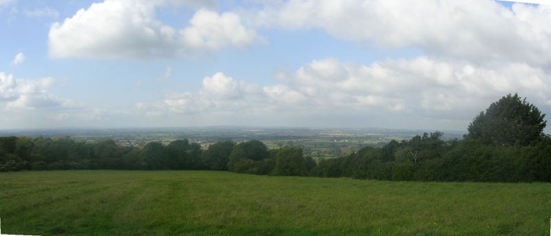 view from the top Near Ellesborough. Wendover circular