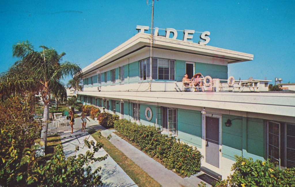 Tides Apartment Motel - Clearwater Beach, Florida