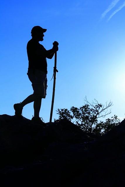 hiking silhouette desktop wallpaper - photo #49
