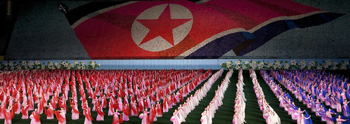 Mass Games Arirang in May Day Stadium - Pyongyang North Korea