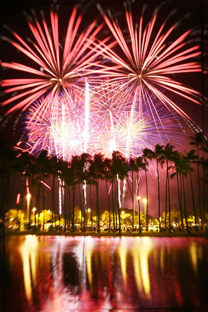 WOW ! Hawaii Fireworks