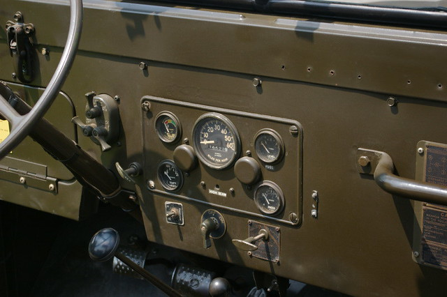 Jeep M38a1 Dash Gauges