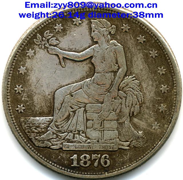 1876 Us Trade Dollar Obverse Flickr Photo Sharing