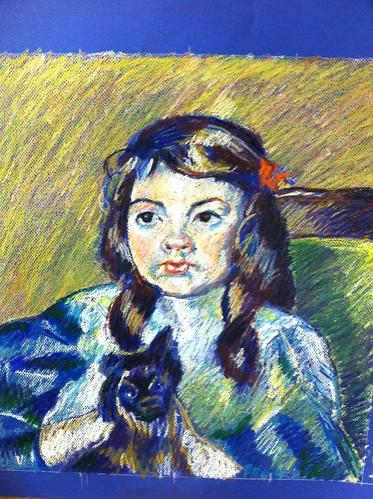 Mary Cassatt study