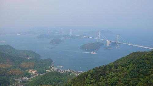 bridge japan landscape shikoku touring 2007 瀬戸内海 四国 しまなみ海道