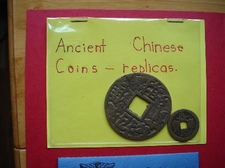 China lapbook coins