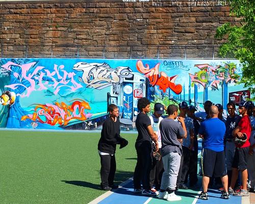 Graffiti Hall of Fame, East Harlem, New York City