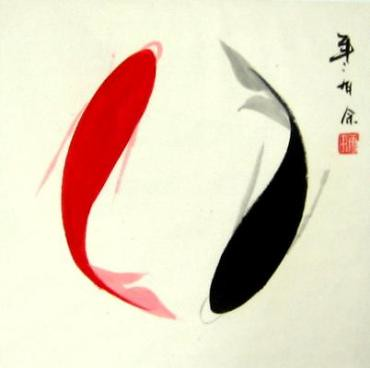 examples chinese brush painting