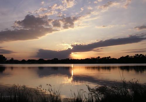 sunset water nebraska lincoln oaklake