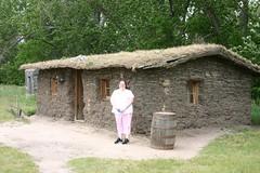 village, building, hut, shack, cottage, house, cob, shed, home, rural area,