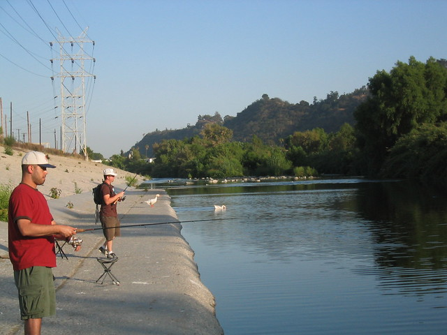 Los angeles river fishing in atwater village 40 flickr for Fishing in los angeles