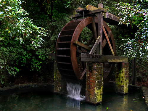 Enchanting Waterwheel