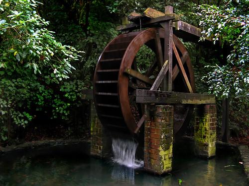 Enchanting Waterwheel