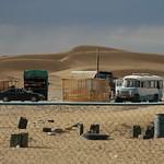 Desert Truck Stop - Jerbent, Turkmenistan