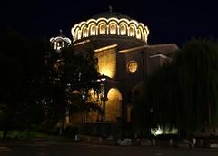 Peaceful night over Sofia