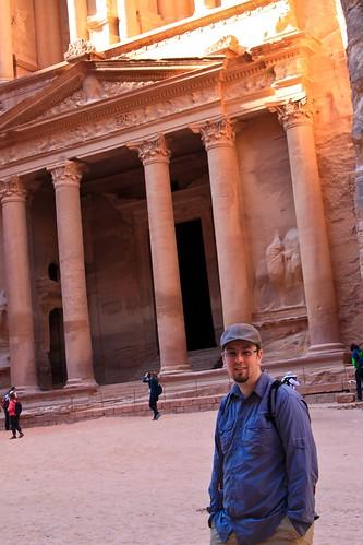 ruins petra treasury jordan indianjones