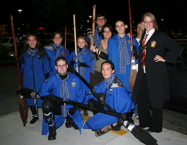 Quidditch team harry potter