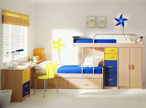 Decoracao Quarto Pequeno Com Beliche ~ juvenil quarto beliche 137  Mobiliario Juvenil  Quarto