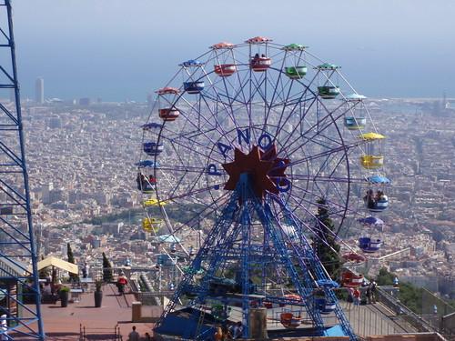 Barcelona: Das Riesenrad Nòria Tibidabo