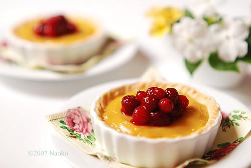 lemon curd tart   Flickr - Photo Sharing!