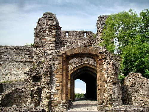 Entrance to Dudley Castle.
