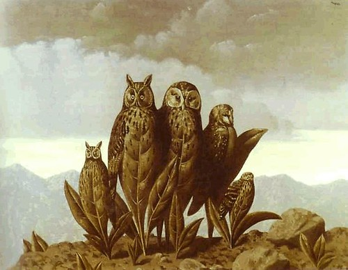 Magritte - The Companions of Fear, 1942