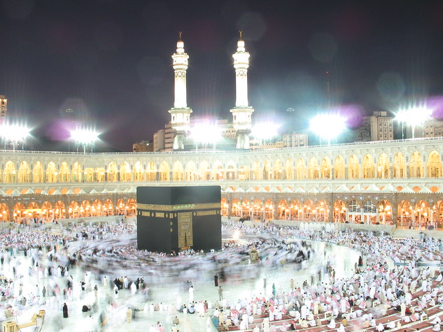 Kaaba at night | Flickr - Photo Sharing!