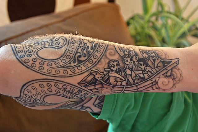 st brendans voyage tattoo flickr photo sharing