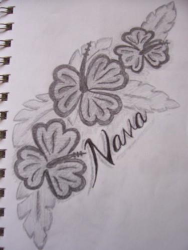 HAWAIIAN FLOWERS TATTOOS Hawaiian Flowers Tattoos