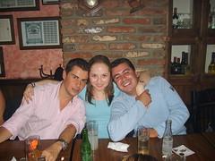 Paco, Belem y Kike