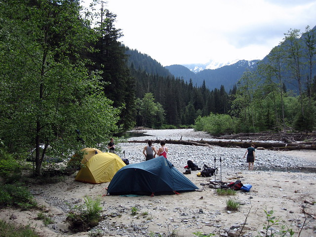 Gold Creek Campsite Flickr Photo Sharing