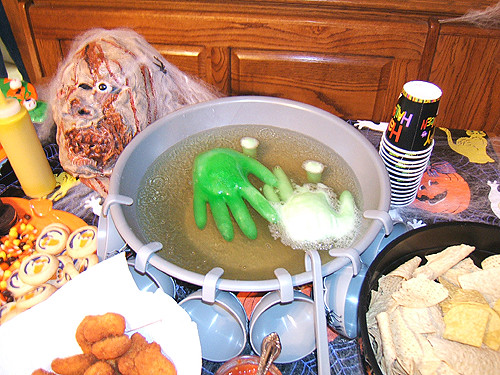 Green Halloween Punch | Flickr - Photo Sharing!