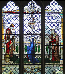Nunc Dimittis, Stained Glass, Waltham Abbey
