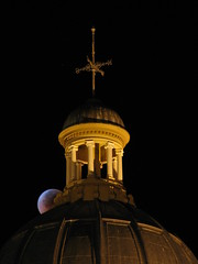 Lunar Eclipse at the Placer County Courthouse
