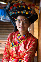 Yunnan - Mosuo Minority Woman
