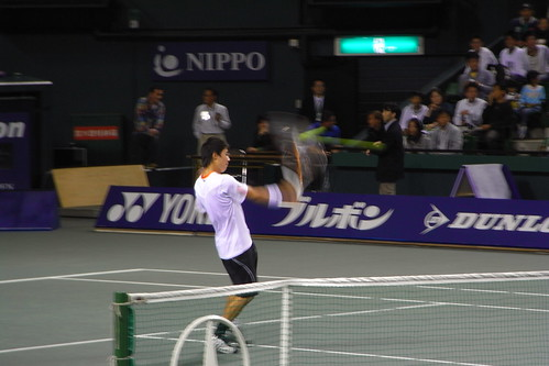 AIG Japan open exhibition game